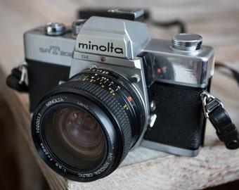 Vintage Minolta SRT-202 35mm Film SLR Camera with Lens -=Bargain=-