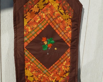 A FALL TABLERUNNER in a shorter length