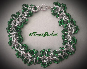 37 Chain Maille bracelet - Chainmaille bracelet