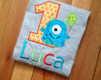 Birthday Monster Shirt