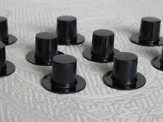 Miniature top hat craft supplies fairy garden miniatures for Tiny top hats for crafts