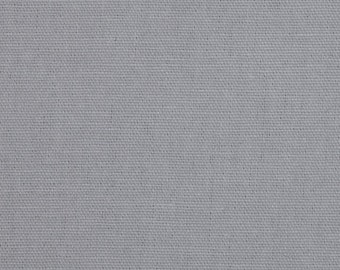 35 Inches - Dyed Solid Storm Grey /Gray Premier Prints Fabric