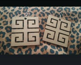 Keyz Hand Painted Earrings