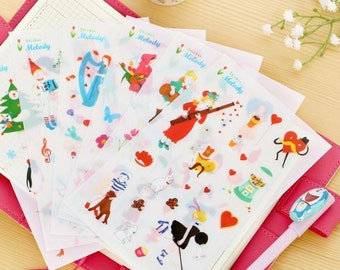 Melody Sticker - 6 Sheets