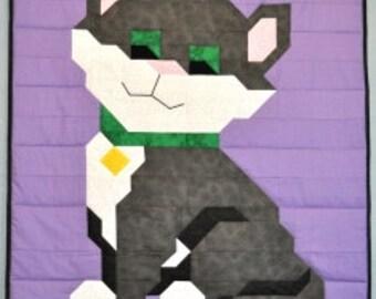 KITTEN Quilt Pattern