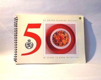 Vintage Cookbook for Healthy eating, Worthington Foods 50 years, 50 recipes, 1989
