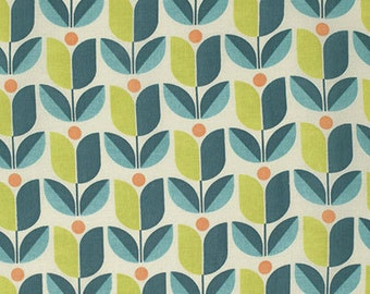 Flora Tulips in Eucalyptus by Joel Dewberry for Free Spirit Fabrics- Half Yard or By the Yard