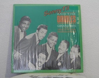"""Sonny Til And The Orioles - """"Greatest Hits"""" vinyl record"""