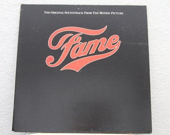 Fame - Original Motion Picture Soundtrack vinyl record (NT)