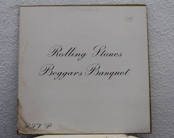 """The Rolling Stones - """"Beggars Banquet""""  vinyl record (NT)"""