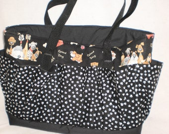 dogs  and  paws craft bag
