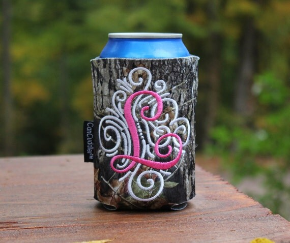 camo personalized can cuddler  u00ae u0026 free koozie  u00ae with