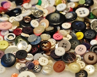 Vintage Buttons- Pack of 50