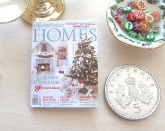 dollhouse christmas magazine 12th scale miniature journal