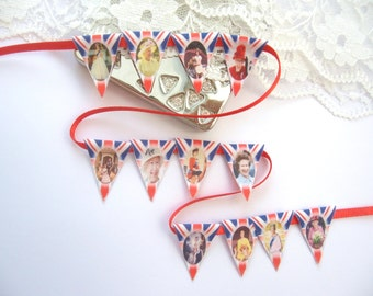 dollhouse miniature bunting queen royal england london 12th scale