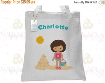 SALE Beach Tote Bag | Beach Girl Tote | Beach Canvas Tote | Personalized Tote Bag