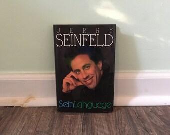 "Jerry Seinfeld ""Seinlanguage"" hardback book"
