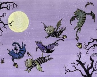 Batlings - art print