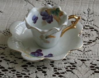 Vintage China Cappucino Cup Set