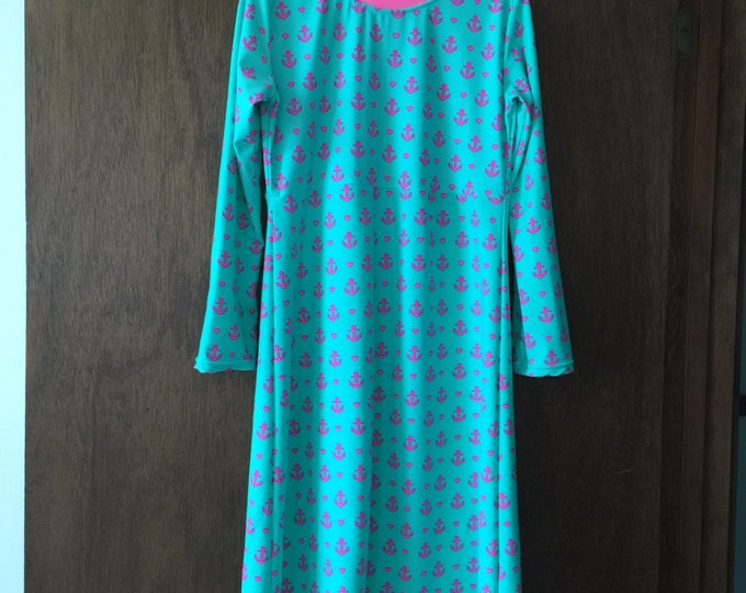 Modest Swim Dress For Ladies Sizes/Please allow 3 - 4 weeks for processing before shipment