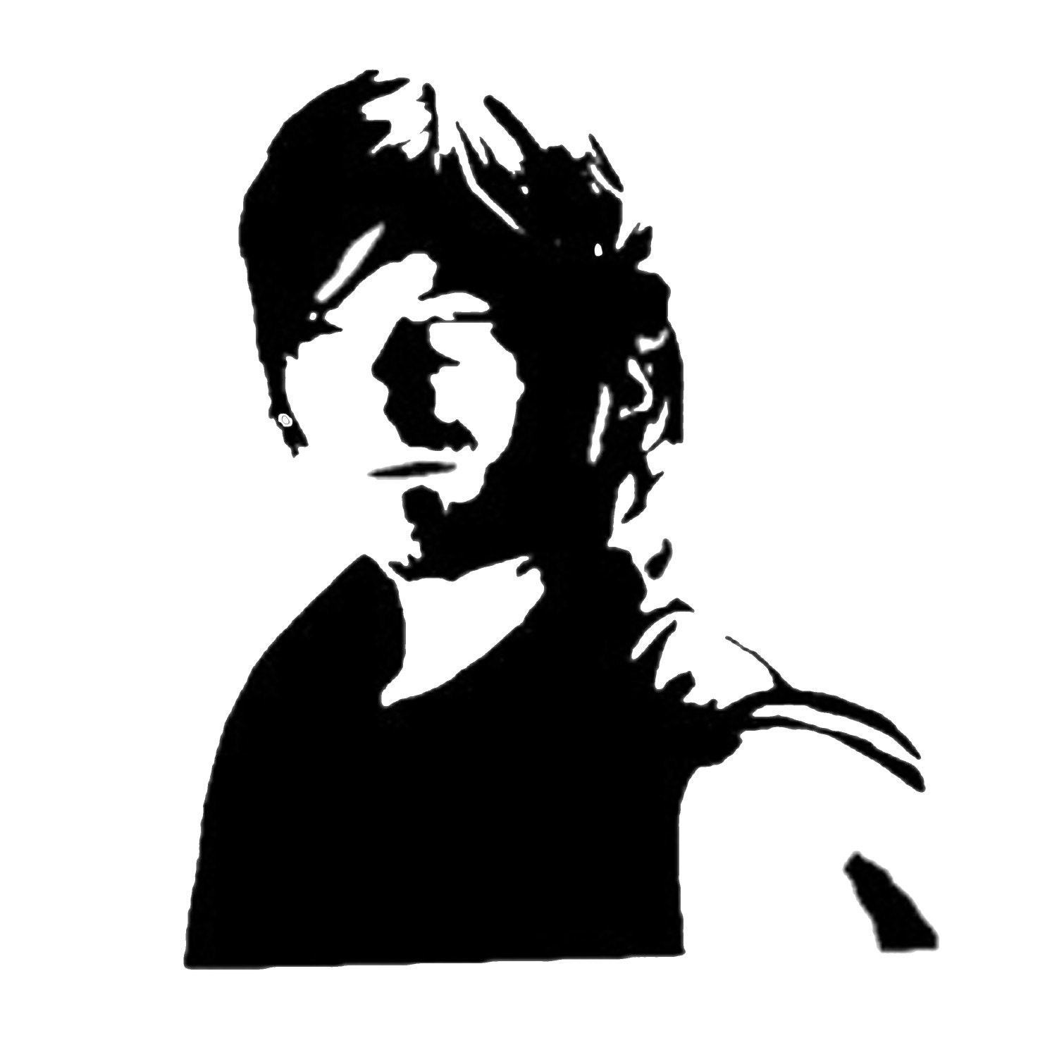 The Walking Dead Daryl Decal With Name Perfect For A Yeti Or