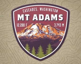 Mt. Adams Decal Sticker