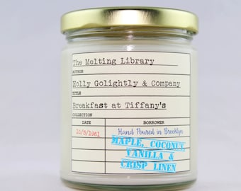 Holly Golightly and Company - Breakfast at Tiffany's Inspired Candle