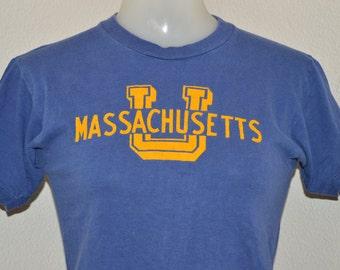70s University of Massachusetts t-shirt Extra-Small