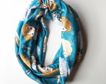 Golden Girls infinity scarf