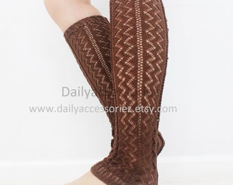 spring sale Crochet womens leg warmers, long leg warmers, boot socks adult, for girls, for women,  for her, for mom, for girlfriend