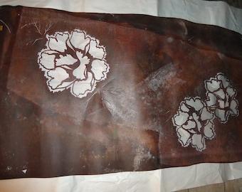 vintage Japanese screen print stencil Katagami Showa Kimono artwork Carved paper; art of the Japanese Stencil