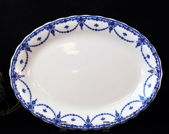 Beautiful Blue and White platter, Vintage platter, china, Wonderful platter for entertaining guest, Nice Gift Idea, #1948