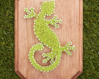 Gecko String Art