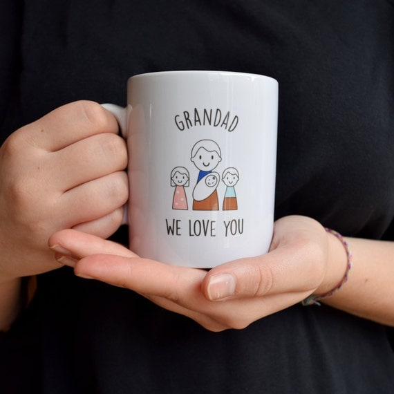 Father's Day Mug for Grandad's - Grandad's Mug - Personalised Mug - Father's Day Gift