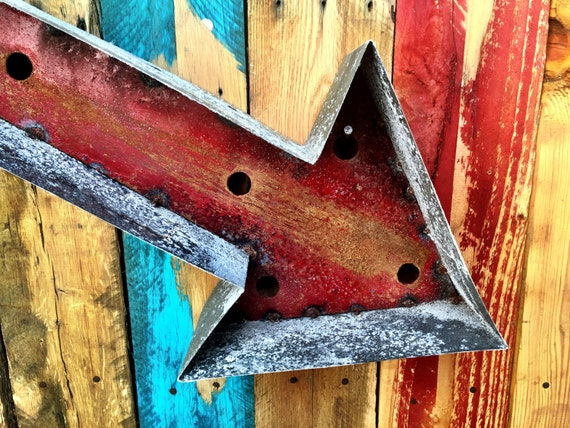 Rustic Arrow Wall Decor
