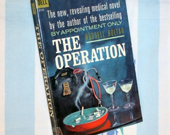 The Operation, 1962 Dell book