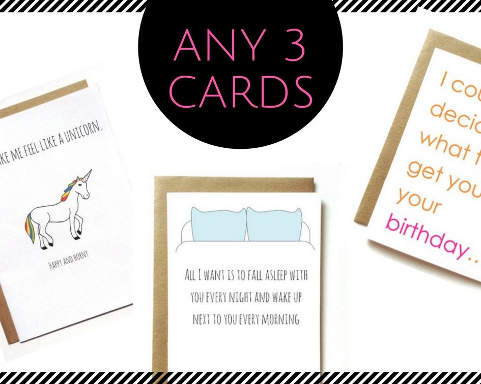 Cards dirty for boyfriend birthday