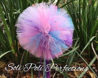 Abby Wand and Puffs, Abby Cadabby Wand, Pink Wand, Party Wand, Princess Wand, Purple Wand, Princess Party Wand