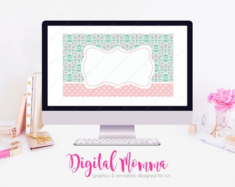 Printable, Blank, DIY Business Card, Instant Download!