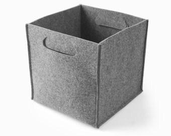 Felt Storage Box Lego Container Basket Kitchen Storage Bin Felt Storage Bag Household Custom Made E1351