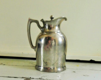 Vintage, Stanley Insulated, Pitcher, Creamer, Made in  USA, Hot/Cold Beverage