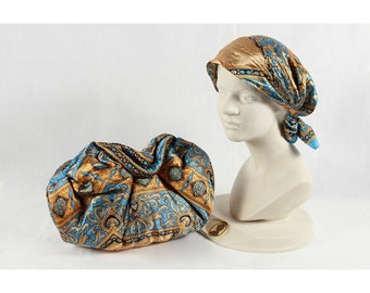 1950s Vintage summer hat and bag