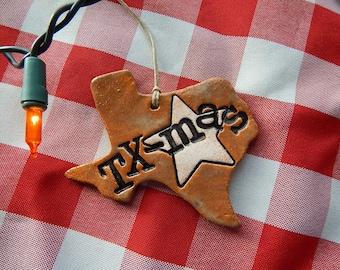 Texas Christmas Ornament.