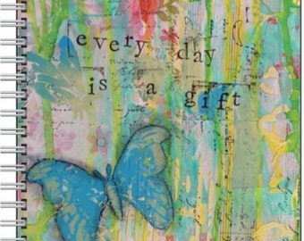 Everyday is a Gift - Spiral bound journal