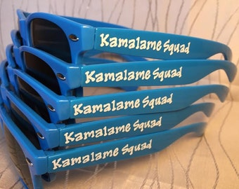 Personalized Kamalame Sunglasses for your destination wedding/Spring break/bachelorette party/last night out/girls trip