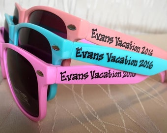 Family Vacation Sunglasses for Beach Trip/Camping/Ski Resort/Cruise/Overseas/Anywhere