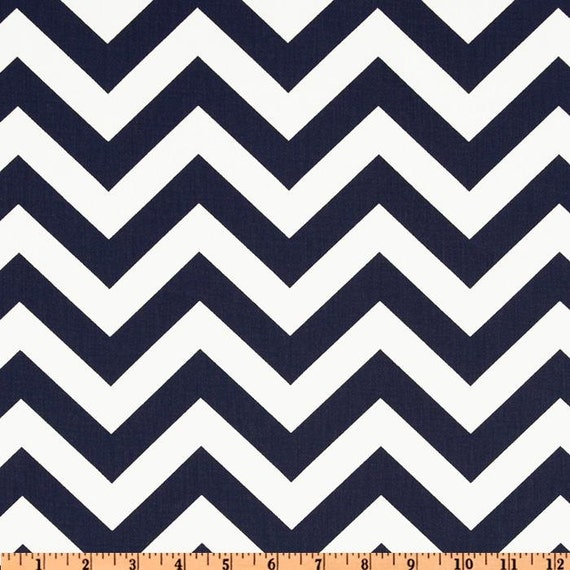 Waterproof Picnic Blanket-Navy Chevron