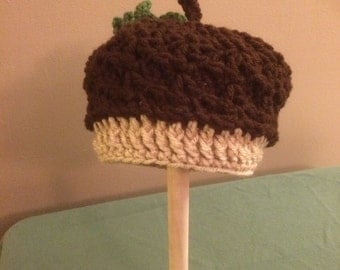 Acorn hat infant to child