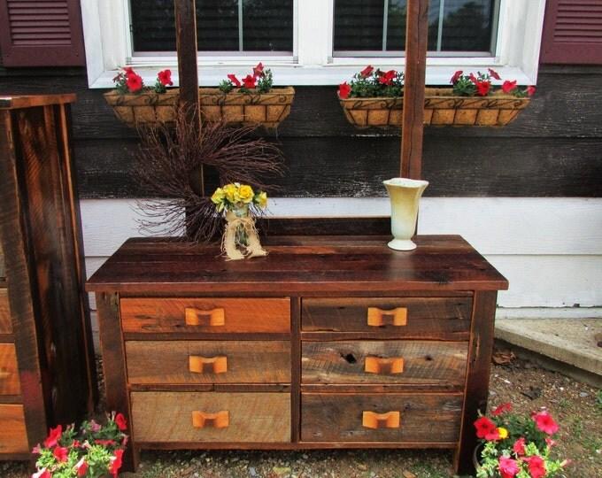 manhattan amish built dresser
