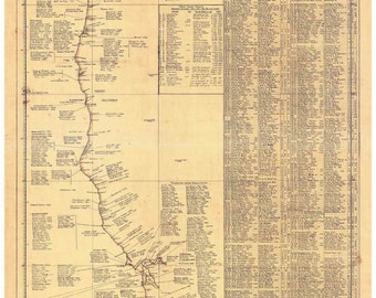 Shipwrecks Along the Pacific Coast, from 1831 to 1949